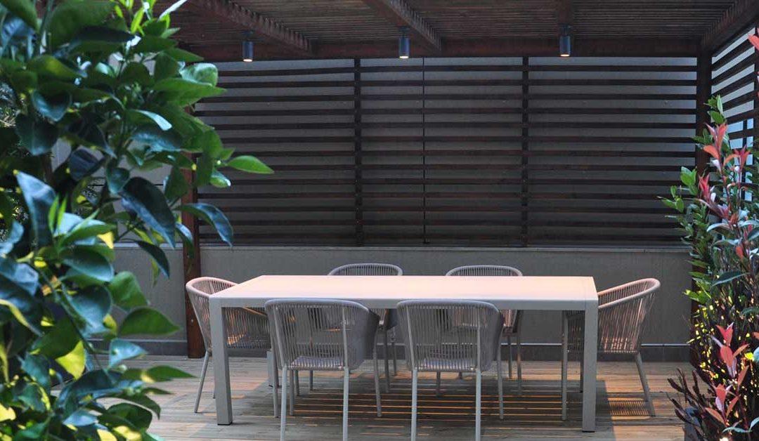 La pérgola de madera para terraza. ¡Disfruta todo el año!