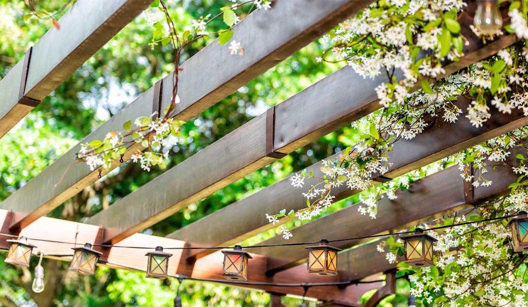 pérgolas para jardín