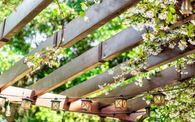 Pérgolas para jardín, decorativas y de gran utilidad